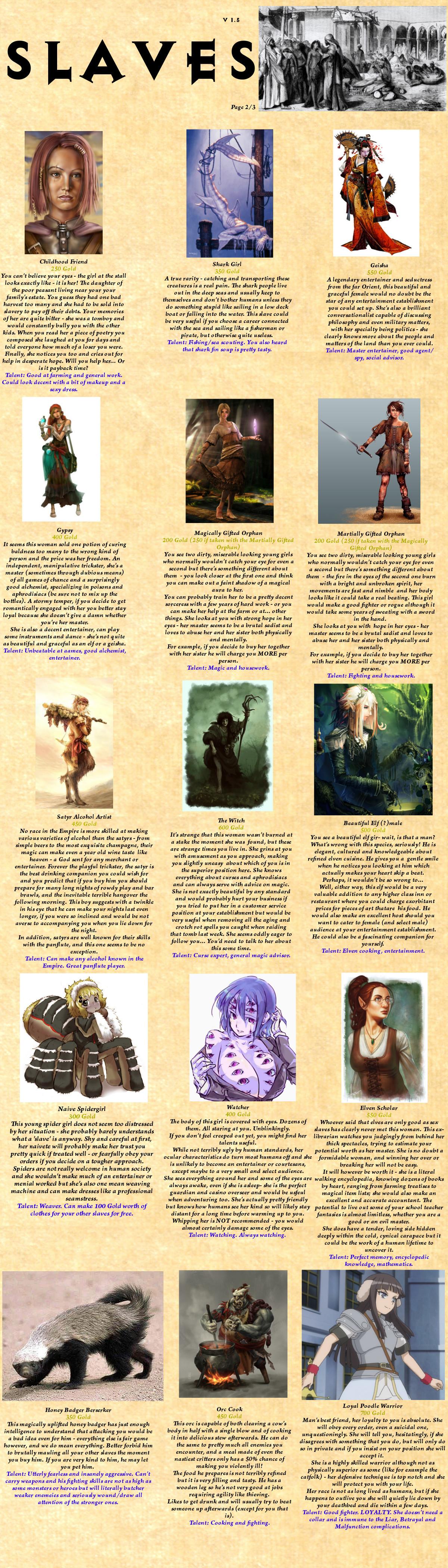 Magician slave hentia uncensored model