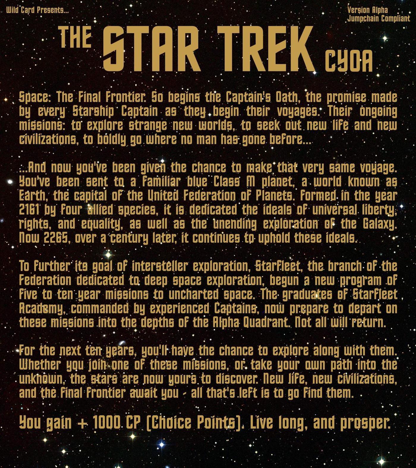 Star Trek CYOA
