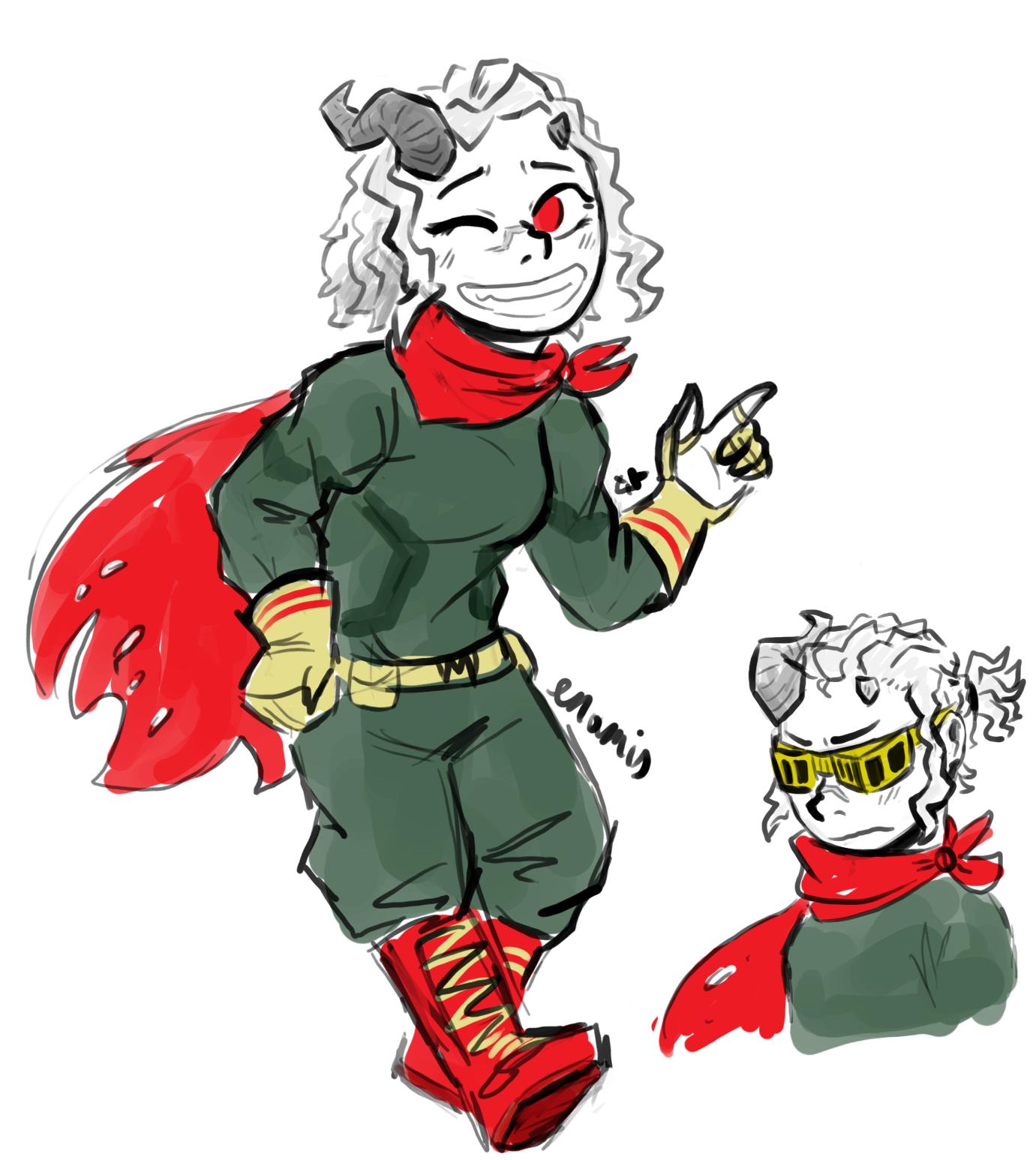 Adult Eri Hero Costume Oc