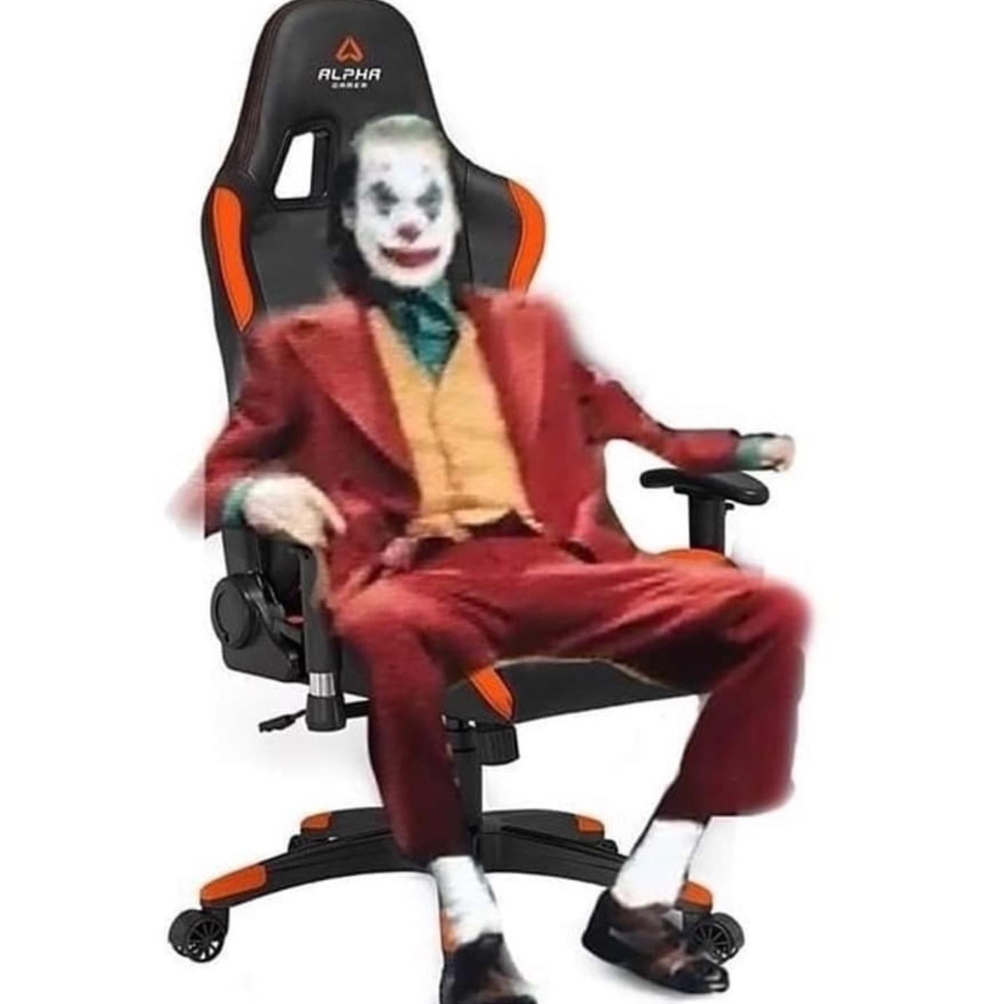 Excellent Joker Im Gamer Chair What Will He Do Beatyapartments Chair Design Images Beatyapartmentscom