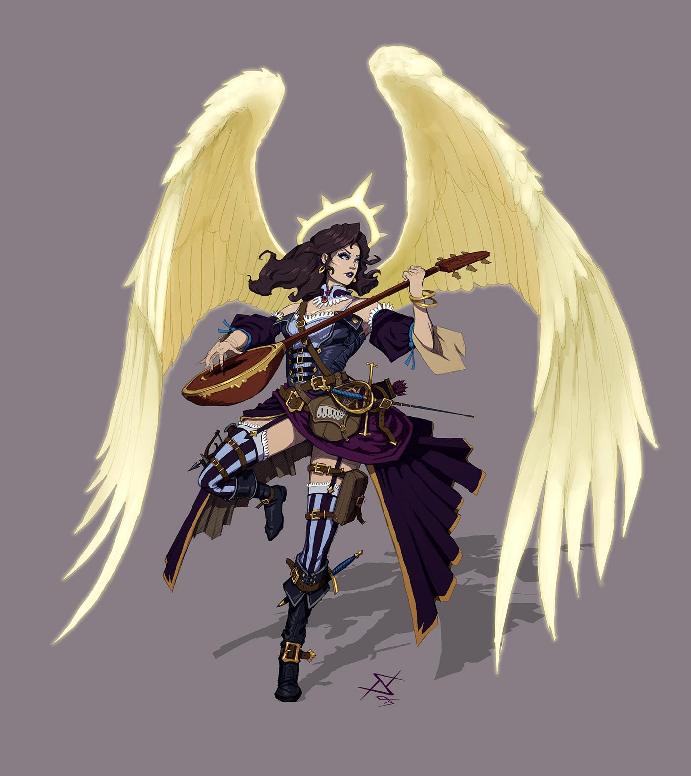 Aasimar Sorcerer absolutely radiant! (aasimar)