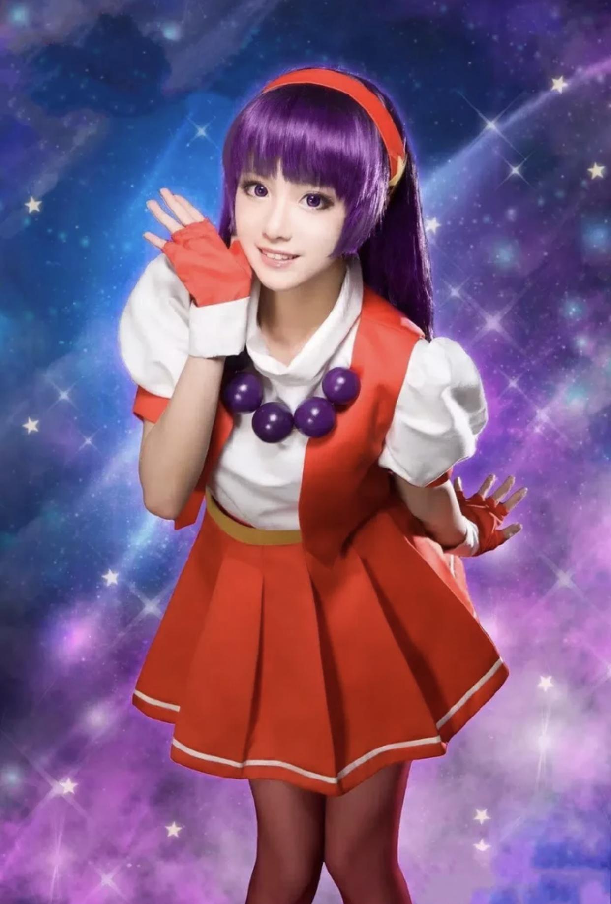 Athena Asamiya Cosplay