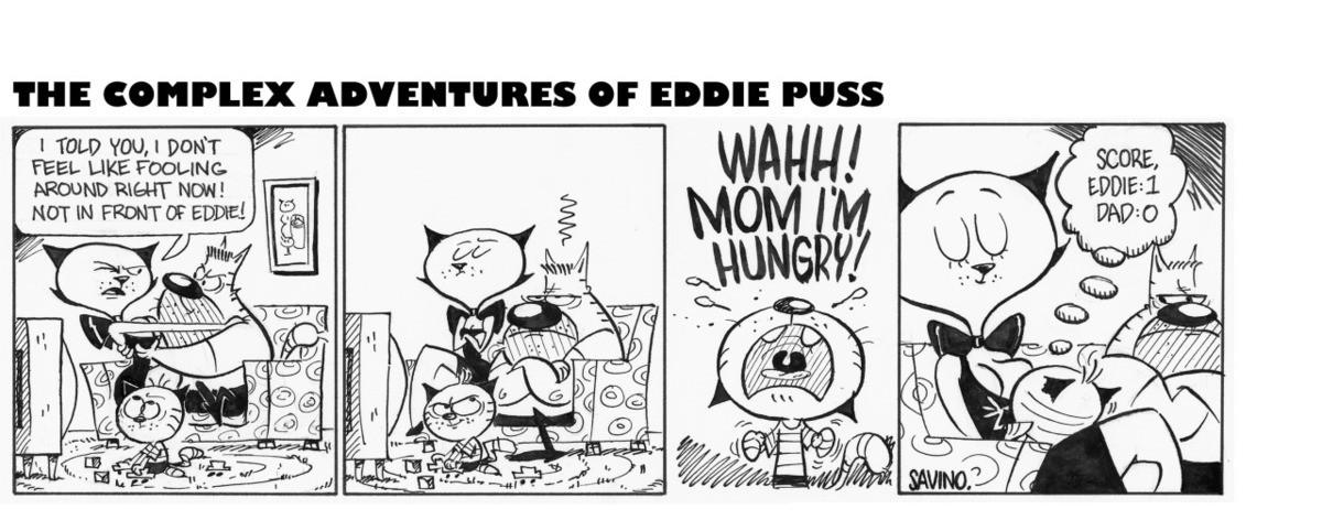 Eddie Puss Comics