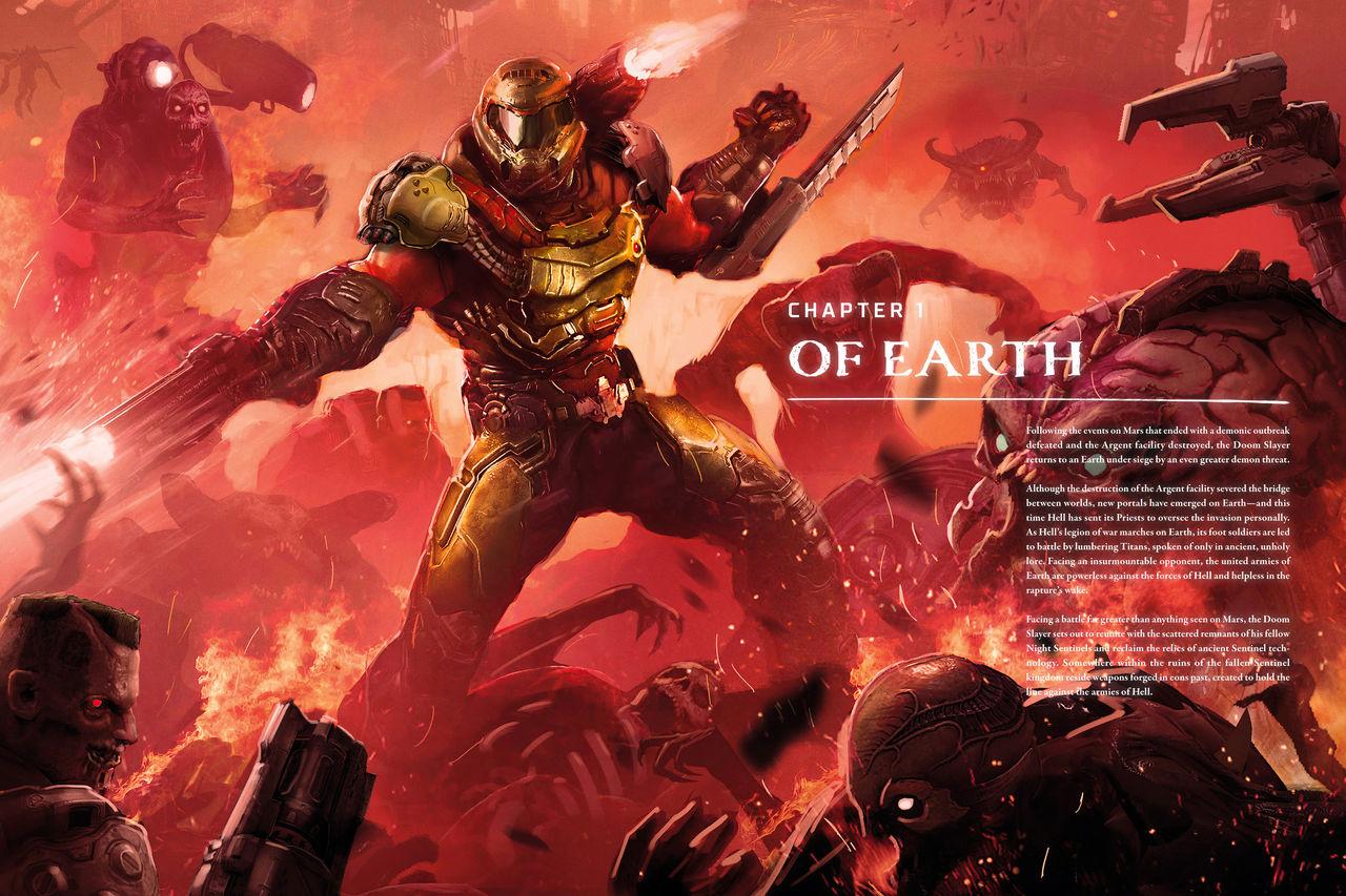 The Art Of Doom Eternal 2020 Spoilers