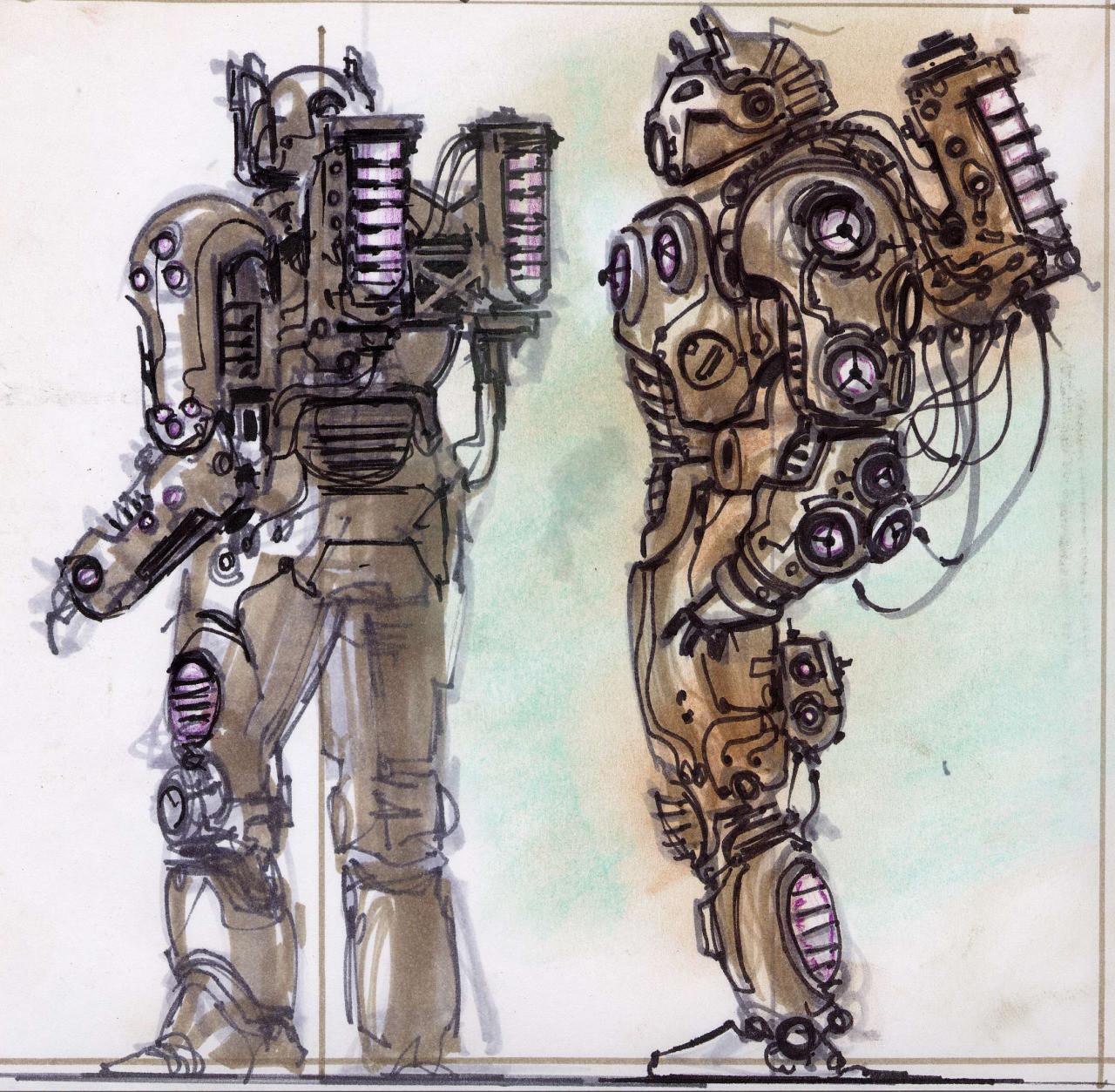 Power Armor Concept