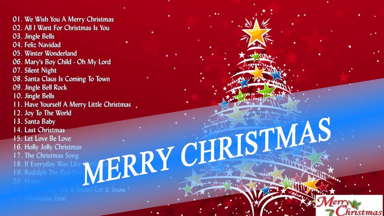 Top 25 christmas carols