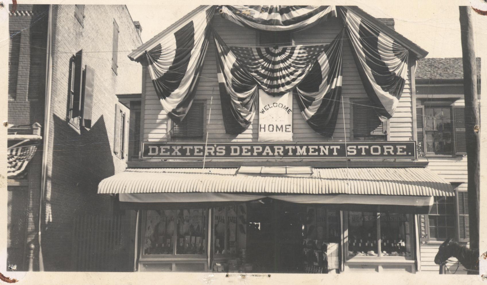 department stores 1900s