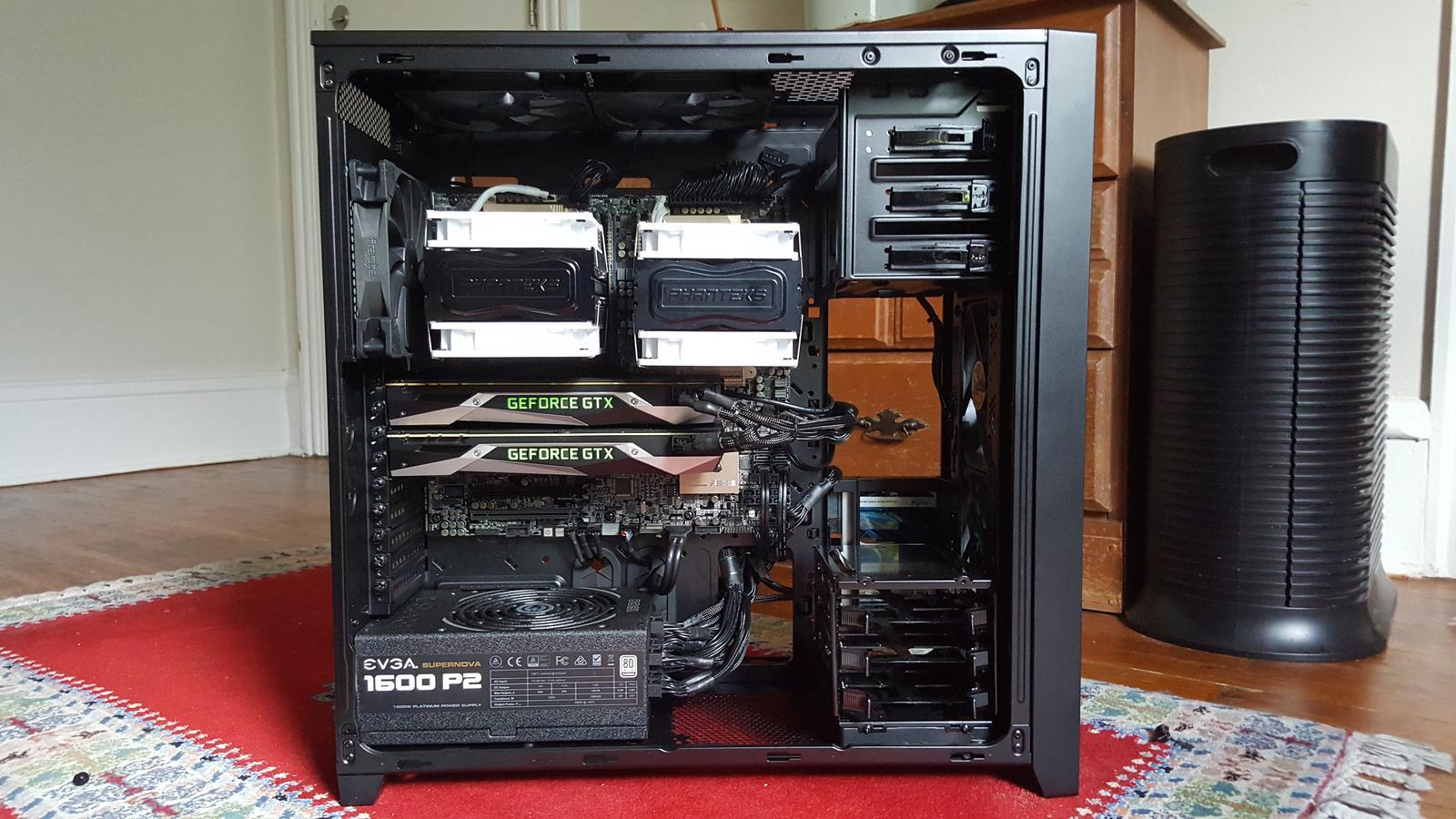 Dual Processor Computer