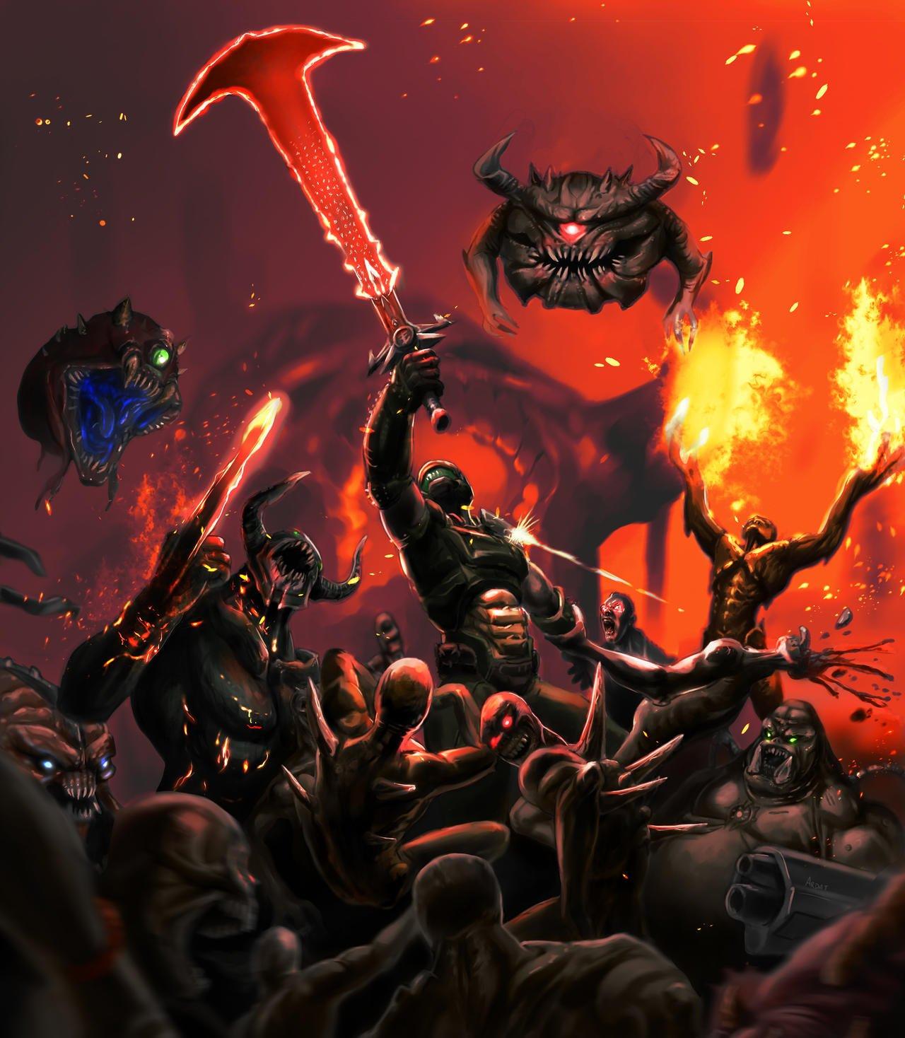 Doom Eternal Fan Art
