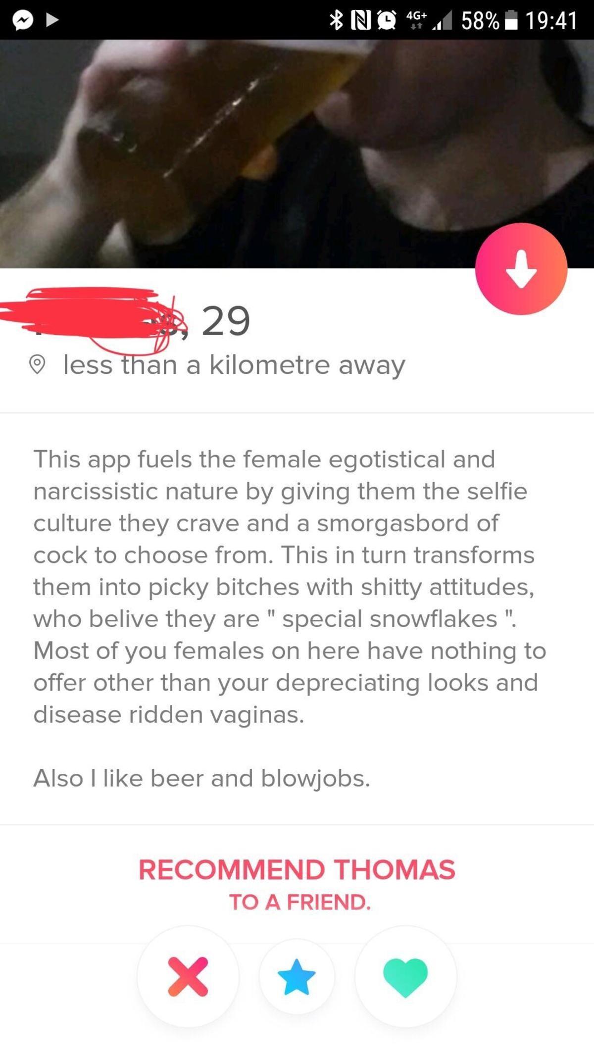 A real ladies man!