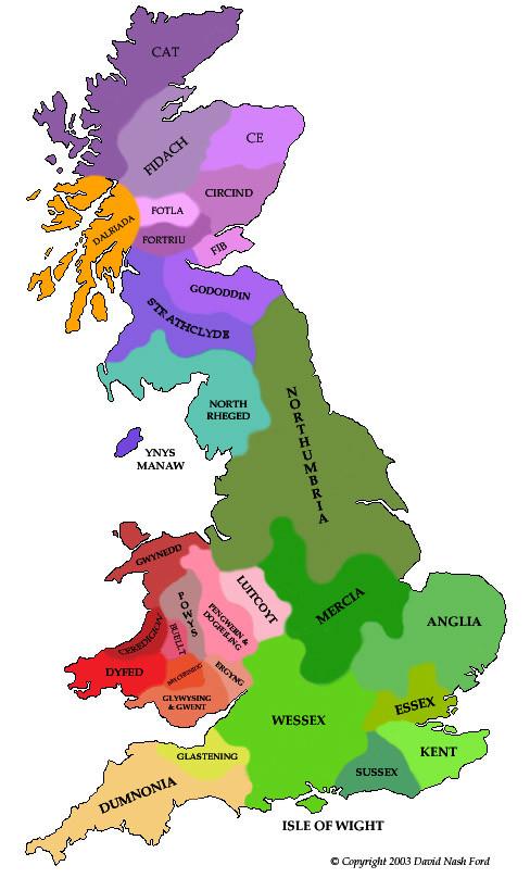 Mercia England Map.Ancient Forgotten History King Penda Of Mercia
