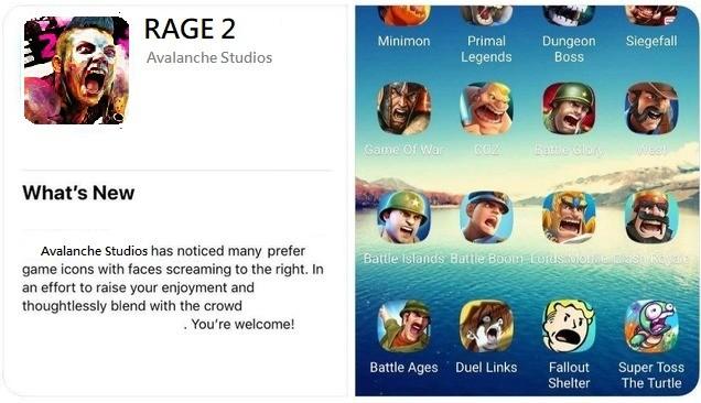 App Screaming meme