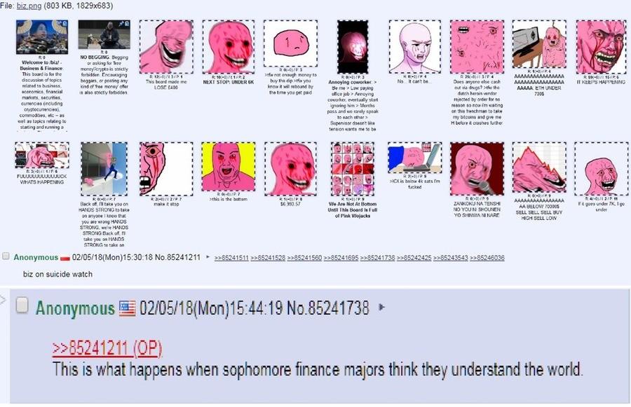 Bitcoin News Update: bitcoin crash 4chan