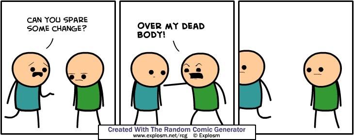 C&H Comic Genreator part: Again