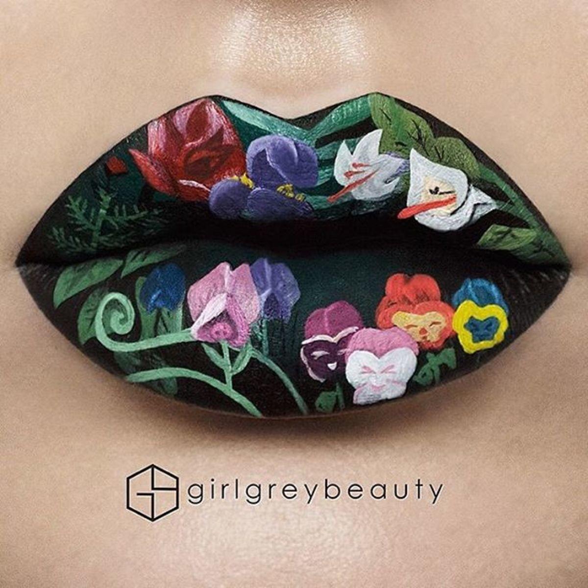 Cool Lipstick Art