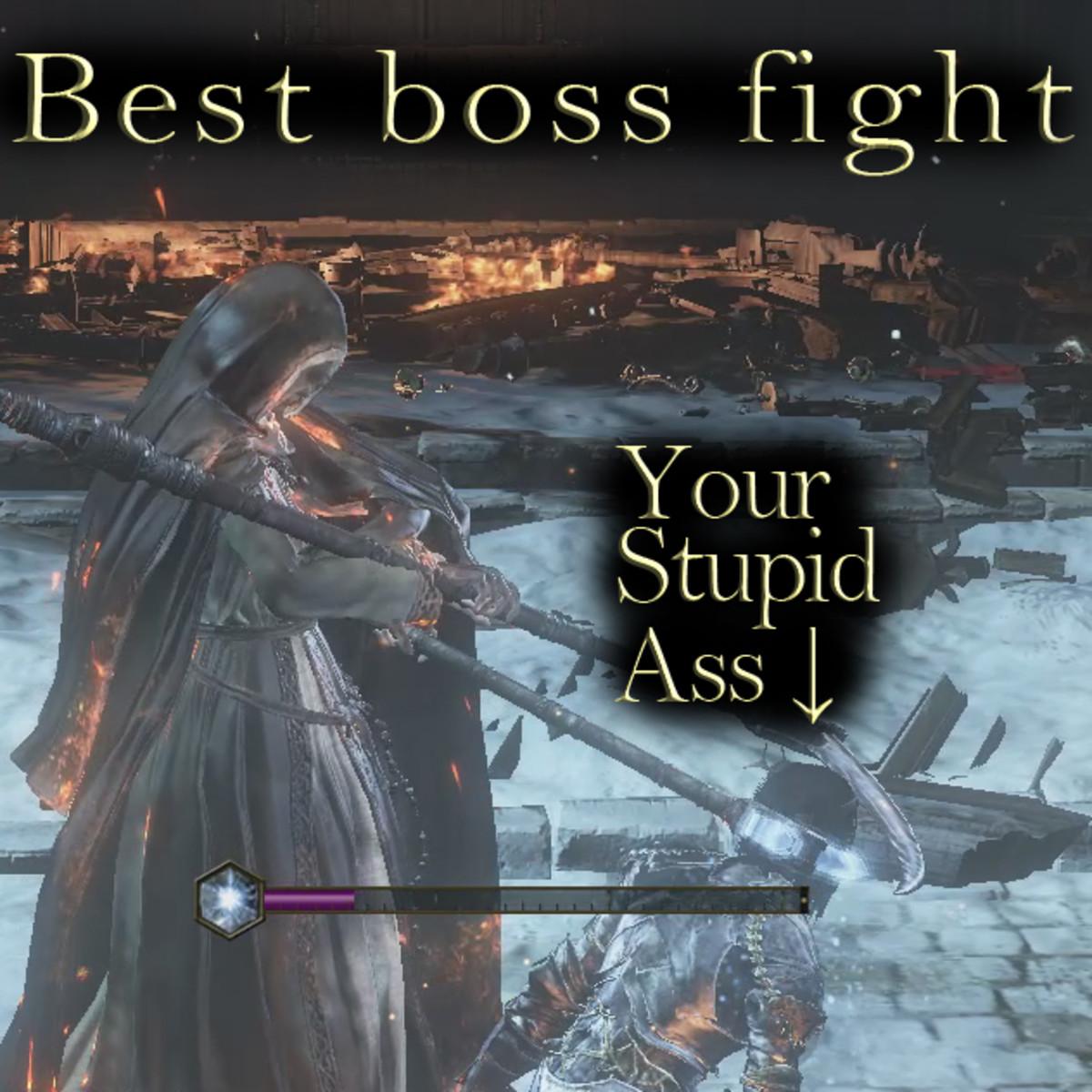 Dark Souls 3 Sister Friede Boss Fight
