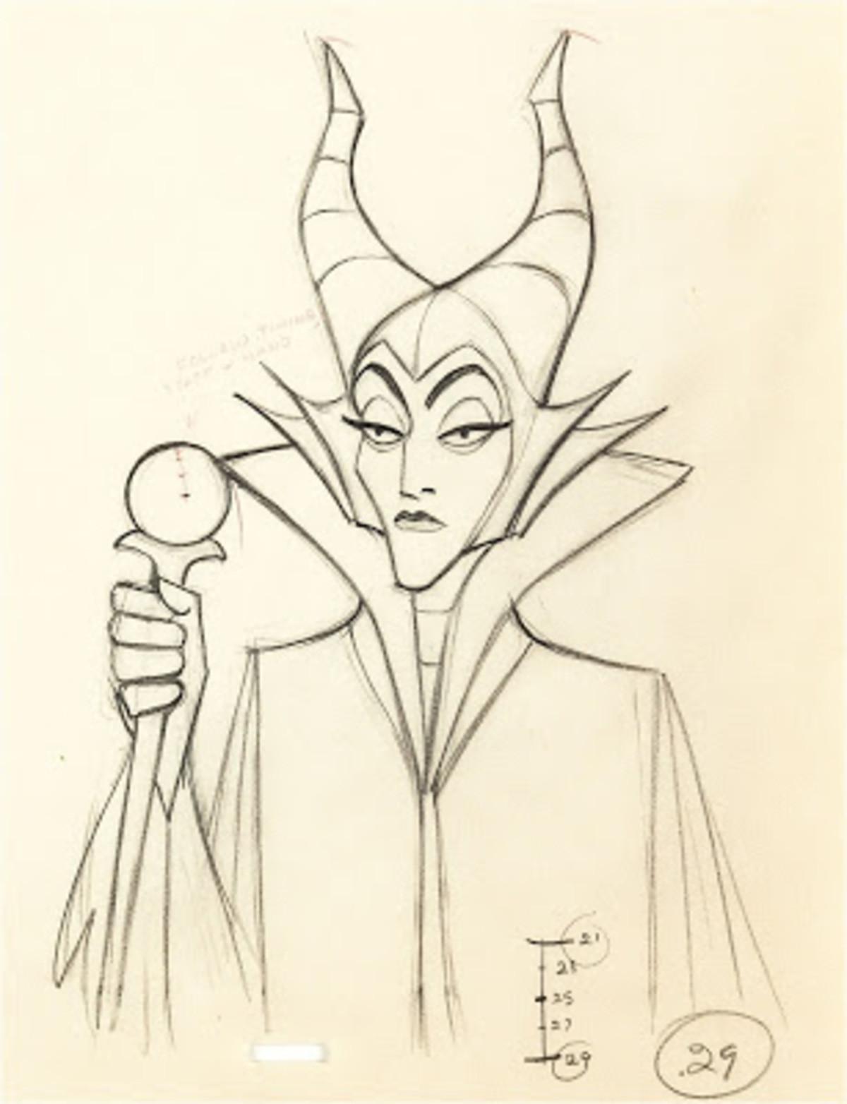 Disney's Sleeping Beauty (1959) -- The Maleficent Scenes