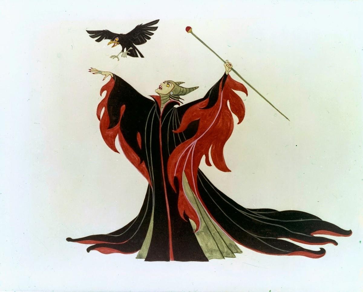 Disney S Sleeping Beauty 1959 The Maleficent Scenes