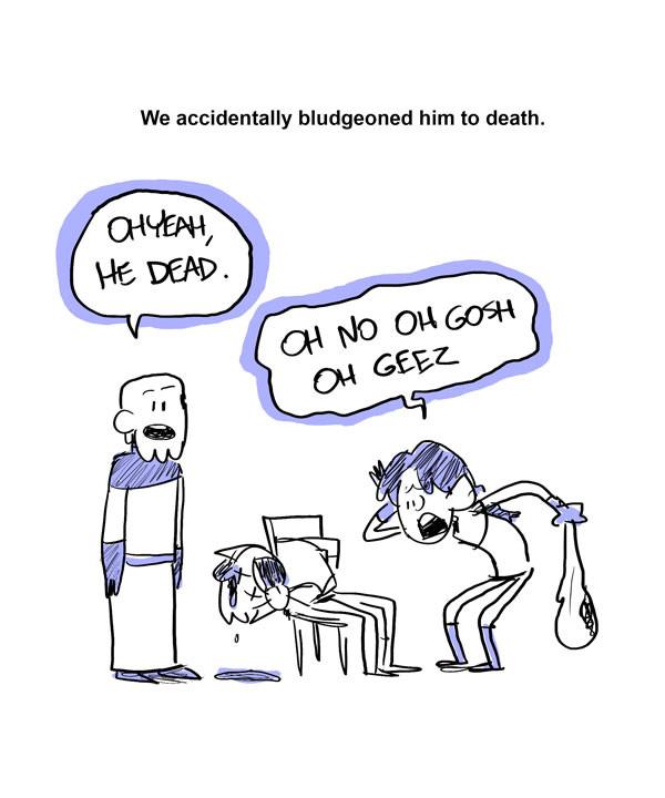 DnD Story Comic