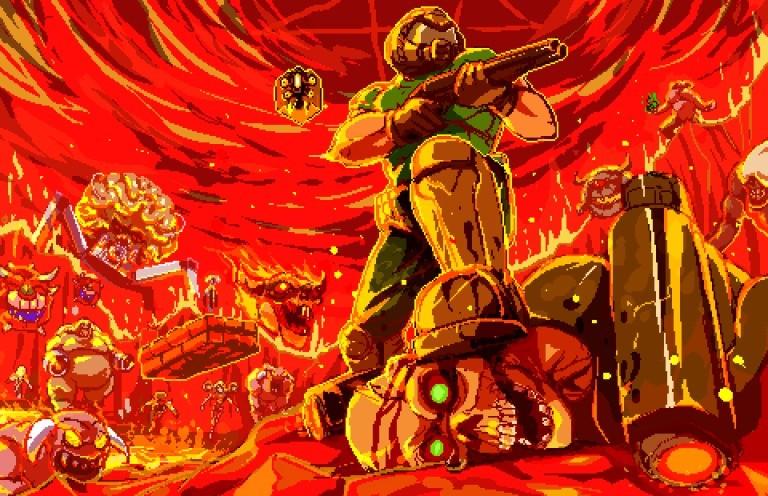 Doom Pixel Art