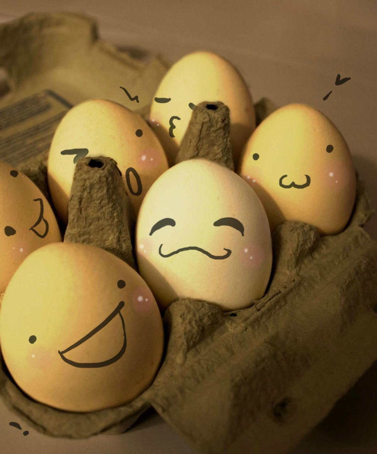 Для, прикол с яйцами картинки