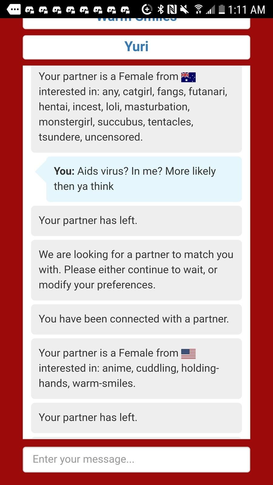 Fakku dating chat history