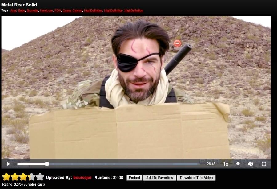 Metal Gear Solid The Phantom Peen
