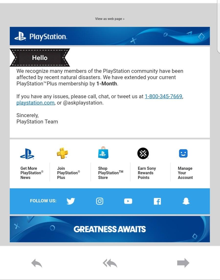 Good guy Sony