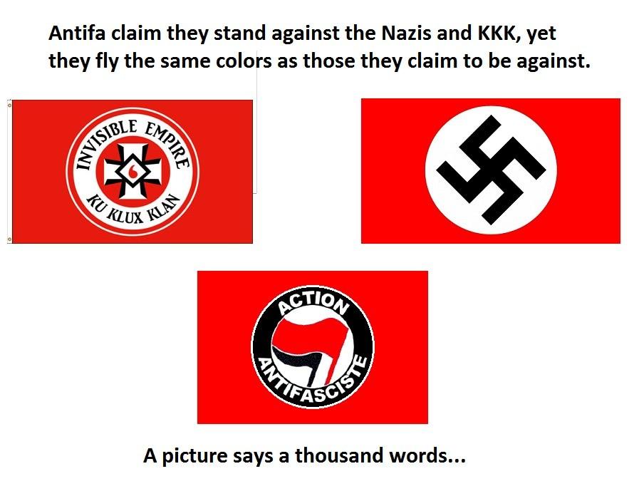 Hey Antifa Care To Explain