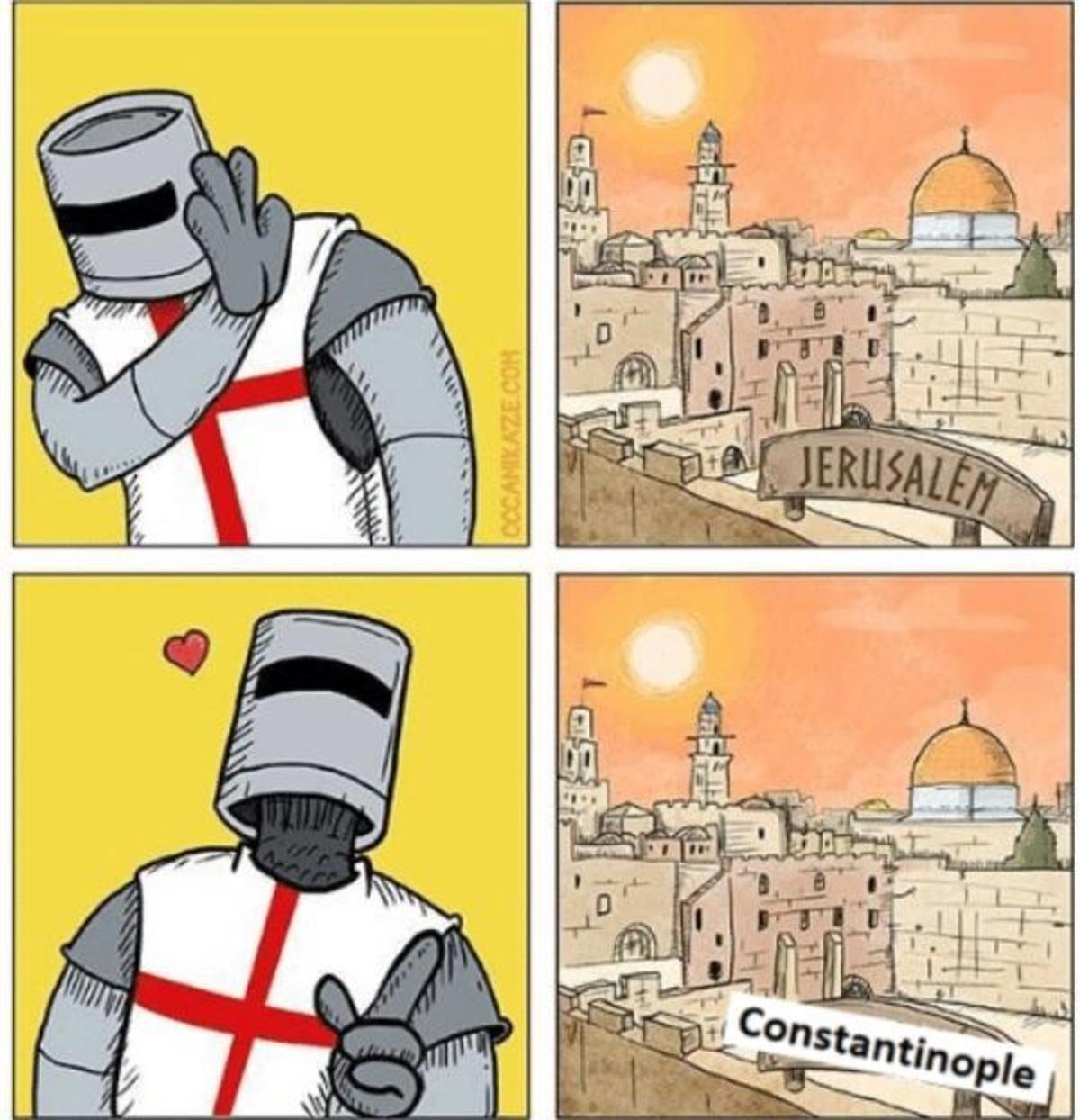 Смешные картинки про крестоносцев