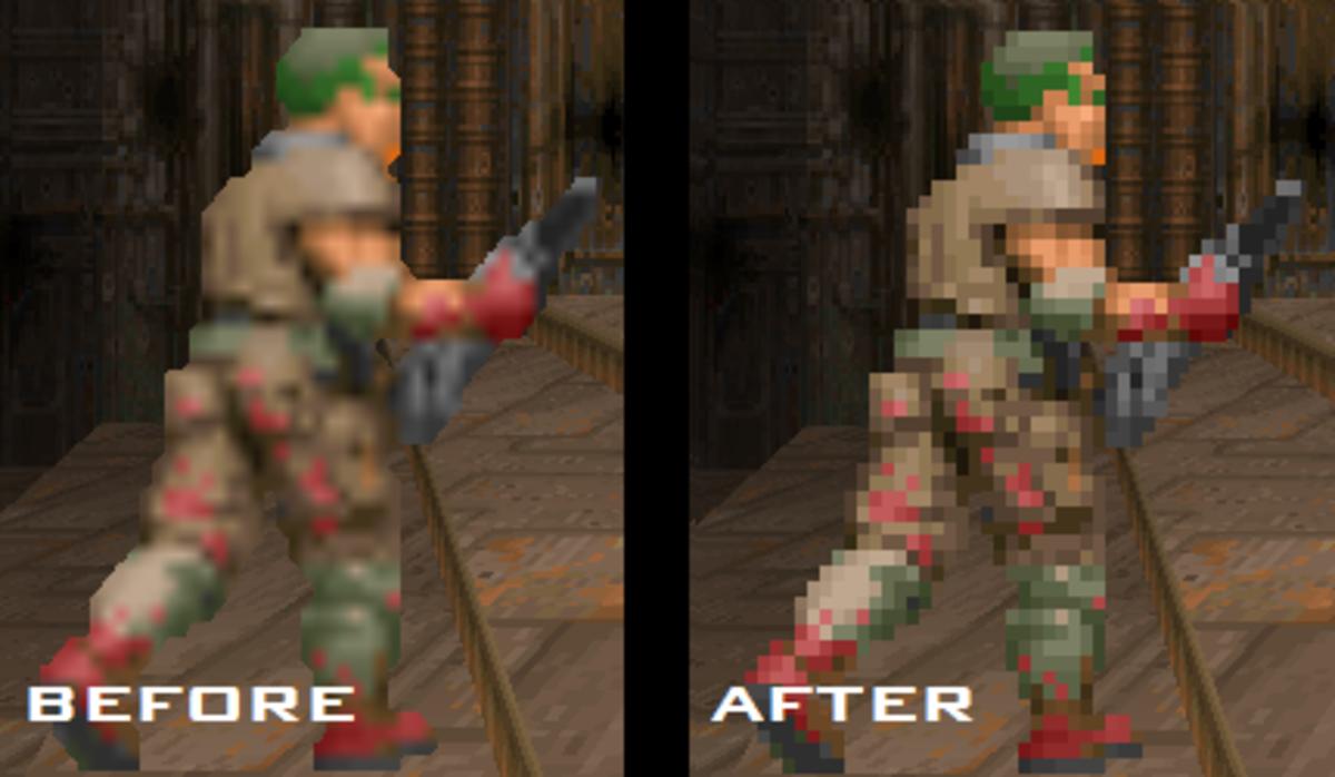 How to play/mod Original DOOM