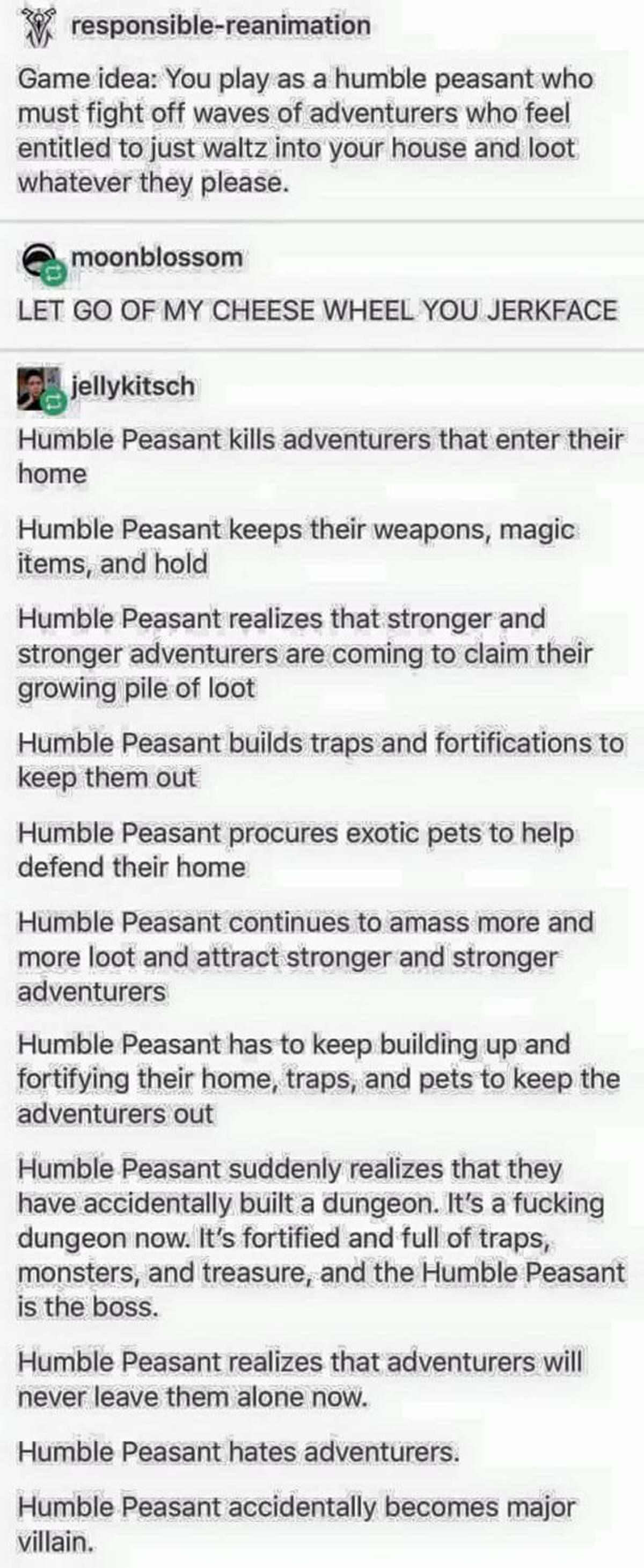 Humble Peasant