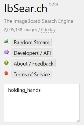 Image board search