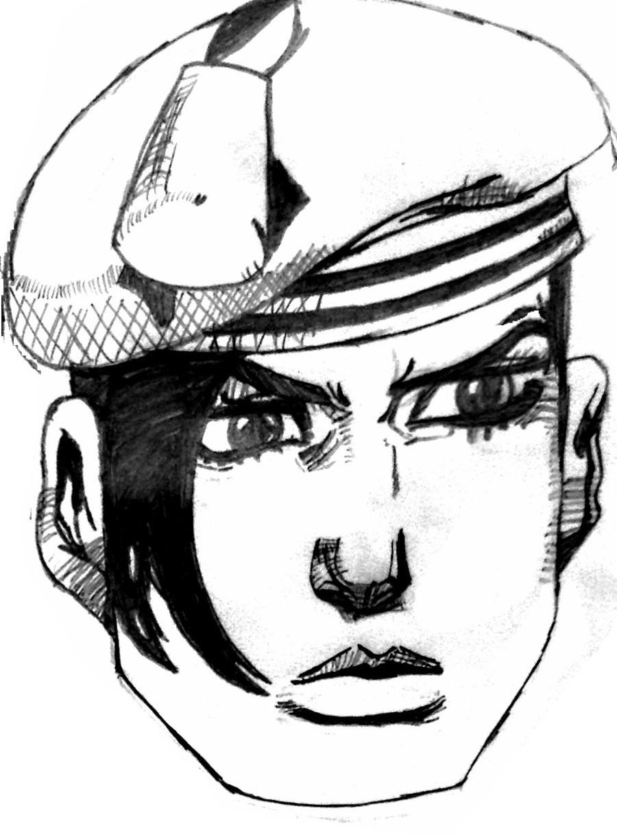 Josefumi and Kira make Josuke