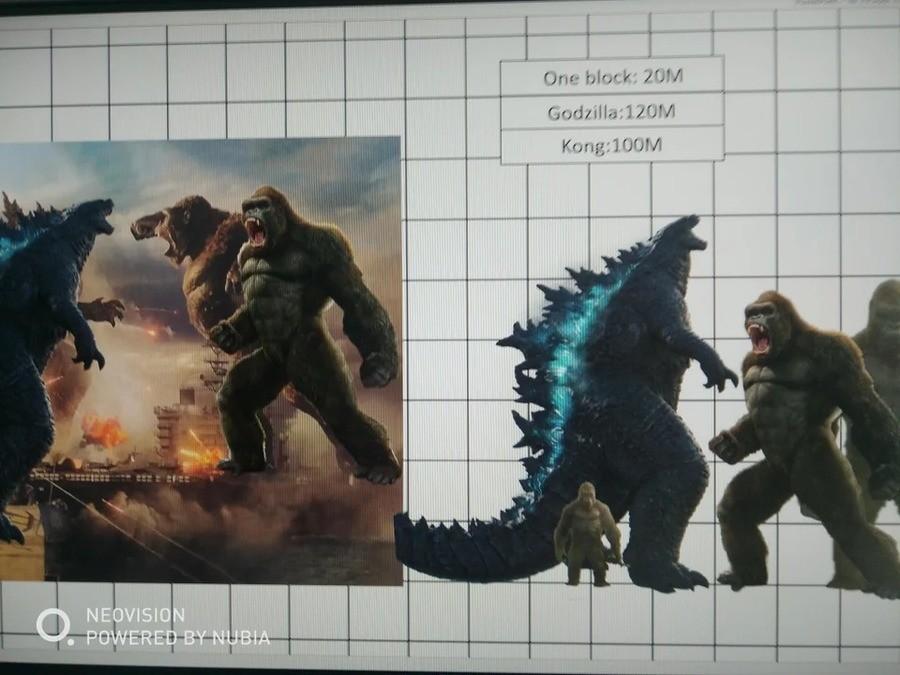 Kongs Size For Godzilla Vs Kong