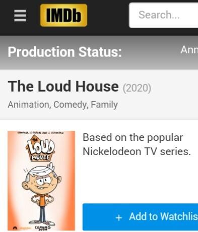 Loudhouse movie