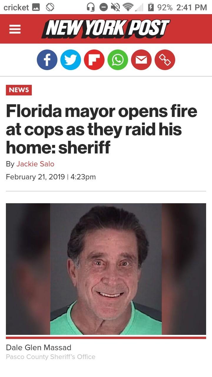 Mayor of Florida