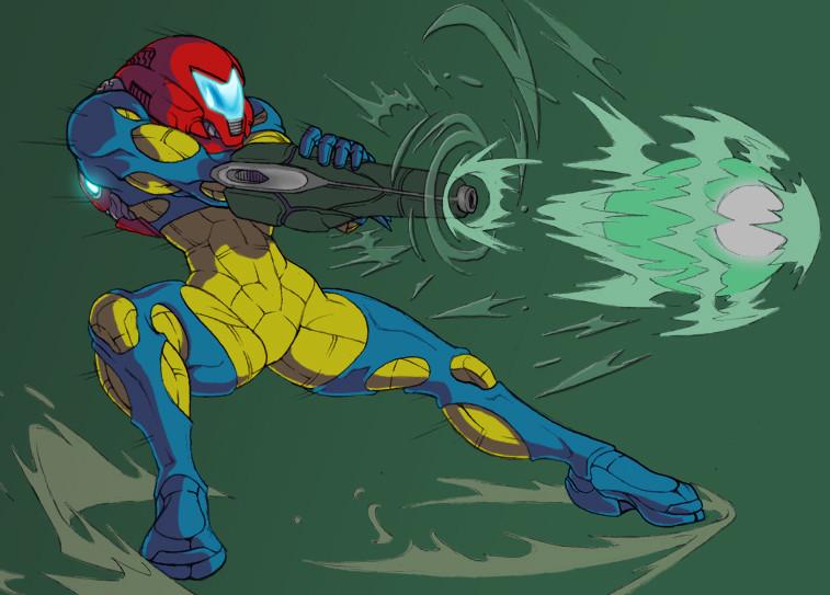 Metroid Fusion Suit