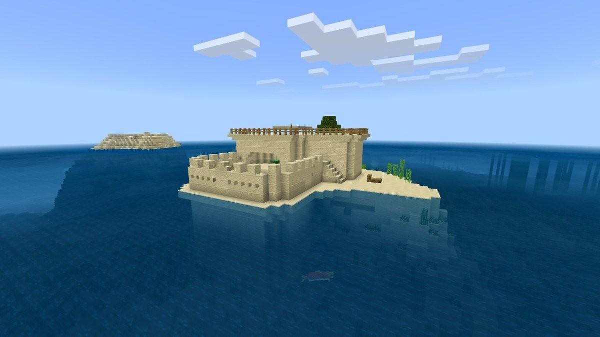 Minecraft Turtle Breeding Island