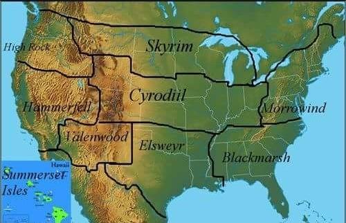 New Elder Scrolls Map