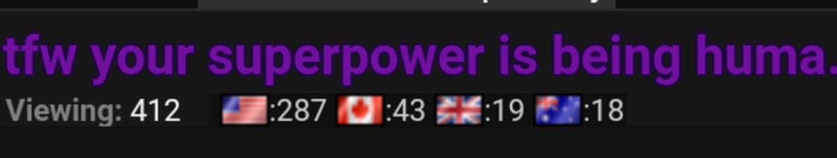 new feature flages woah were un worthy brooooooooooooooo