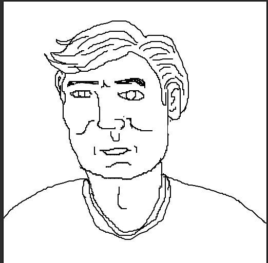 Pix2pix face generator attempts