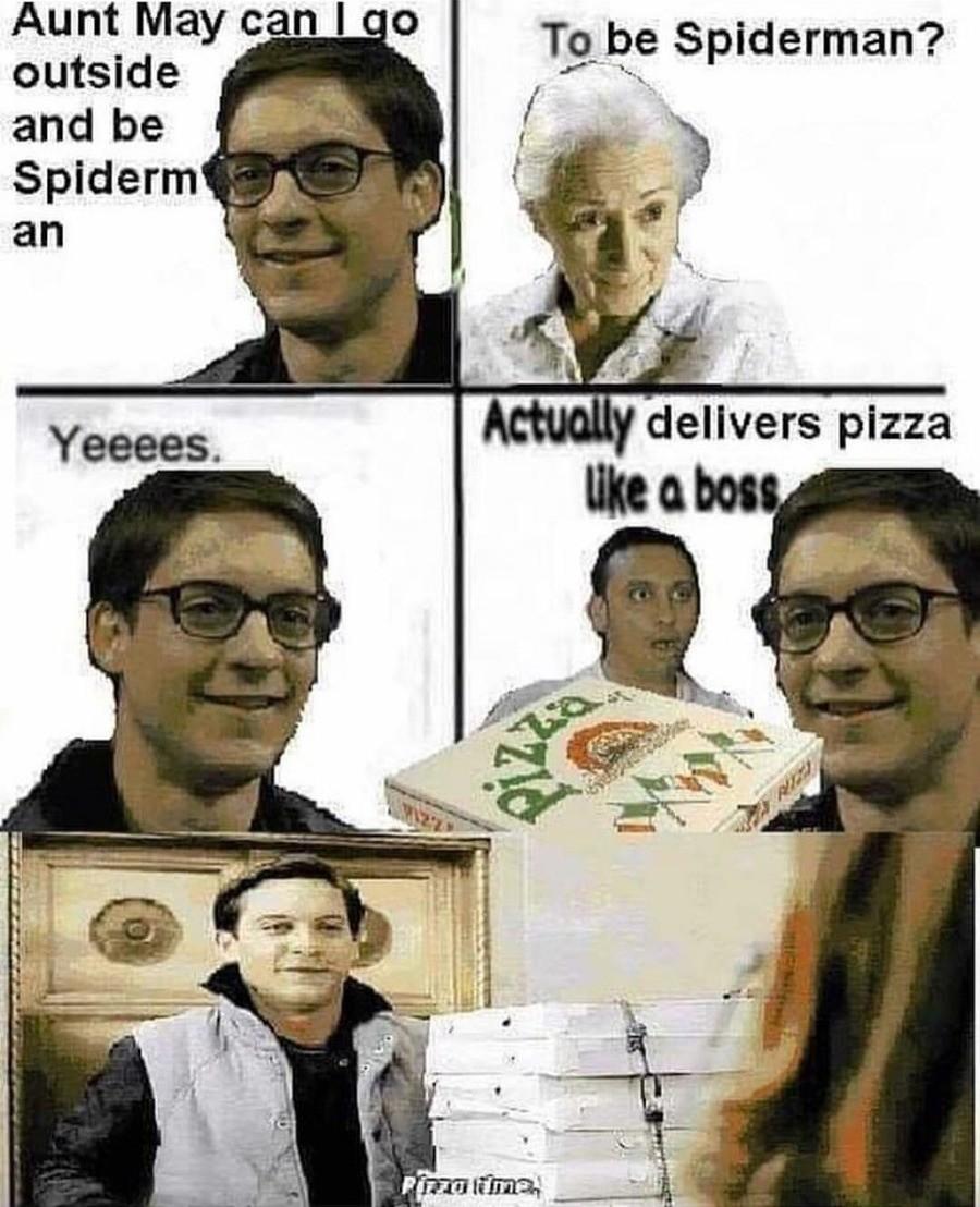 Pizza Time Meme