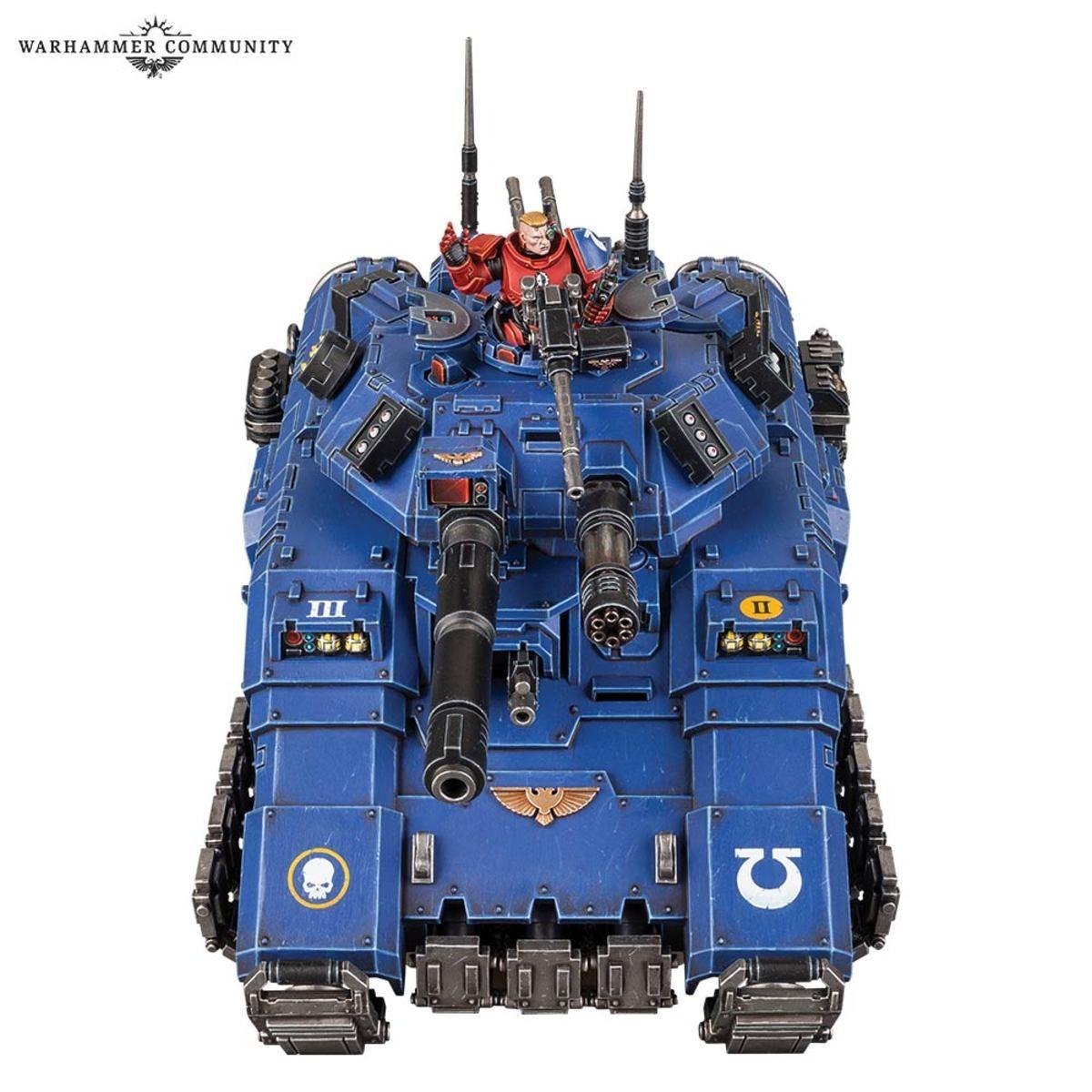 Primaris Repulsor Executioner Tank