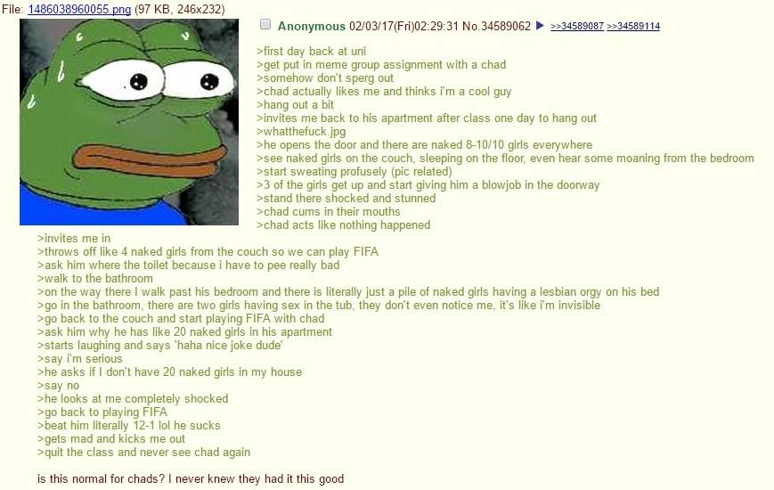 Robot Meets Chad