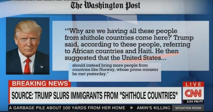 Resultado de imagem para trump shithole countries