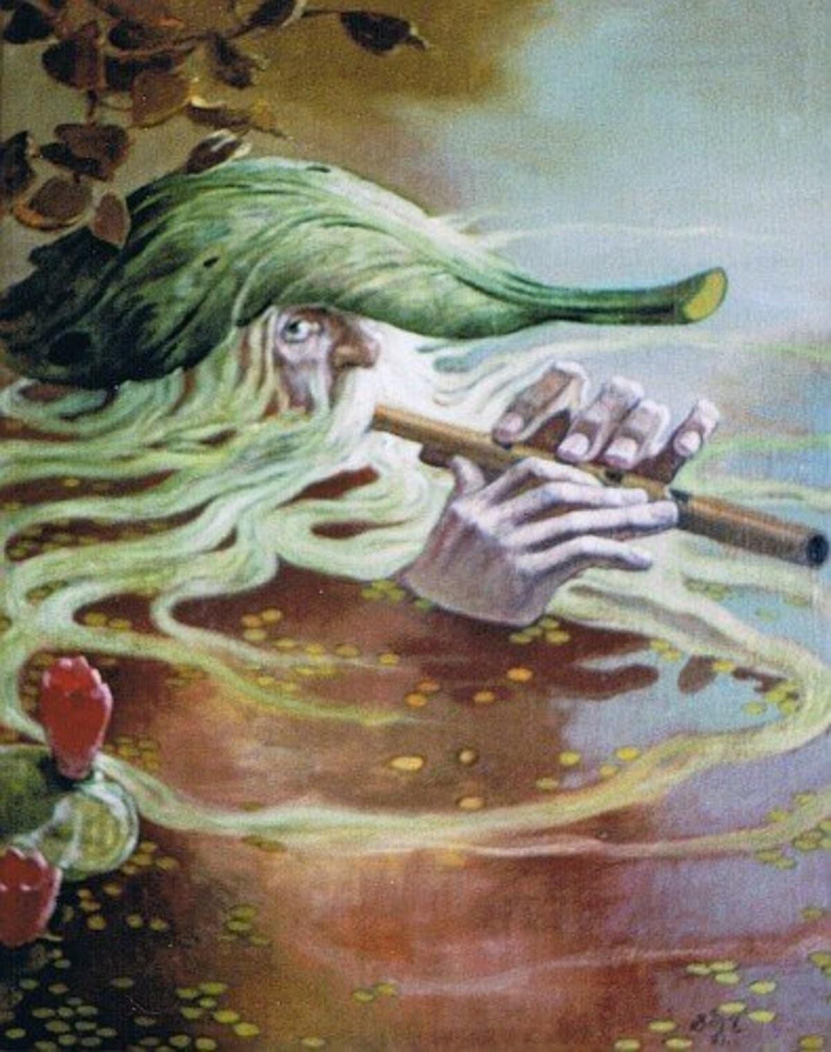 Slavic Bestiary - Vodyanoy the Drowner