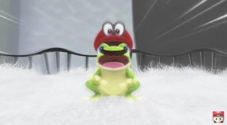 Small comp, Super Mario Odyssey