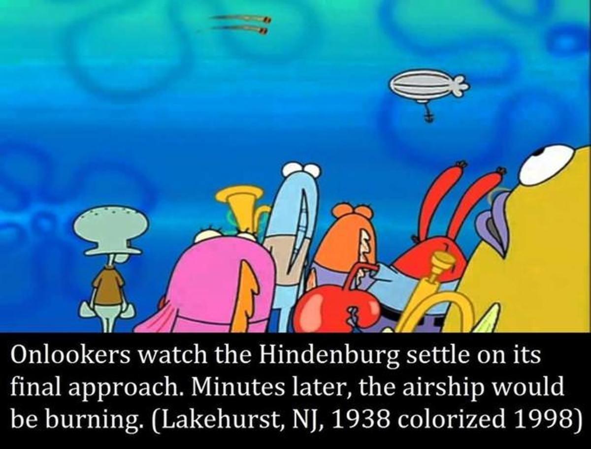 Spongebob colorized meme dump