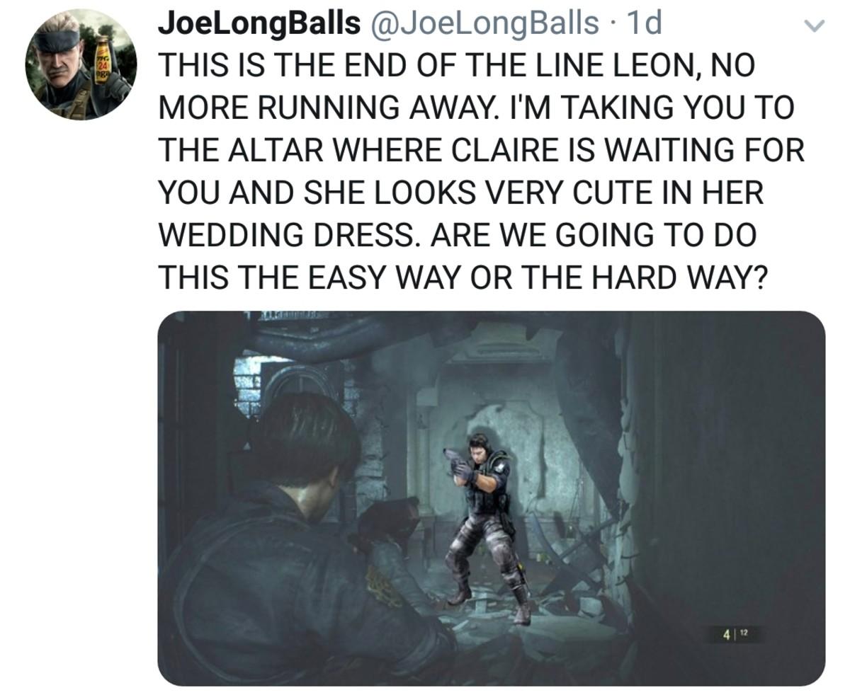 Resident Evil Memes Tv Tropes